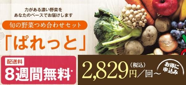 ぱれっと(旬の野菜つめ合わせセット)