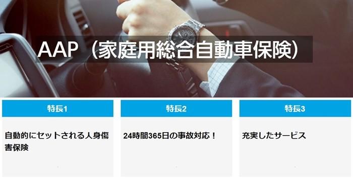 AAP(家庭用総合自動車保険)