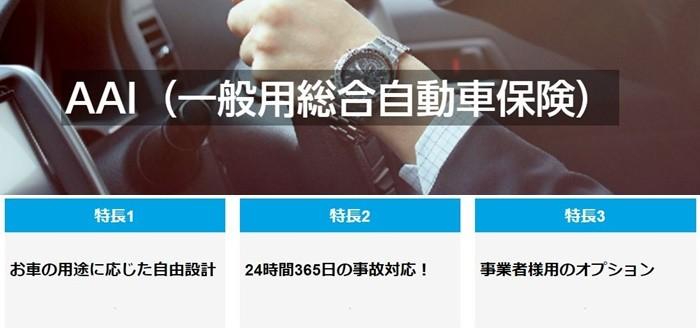 AAI(一般用総合自動車保険)