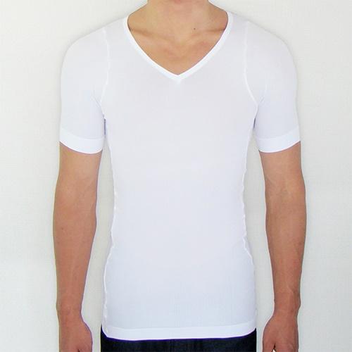 金剛筋シャツ(ホワイト)白