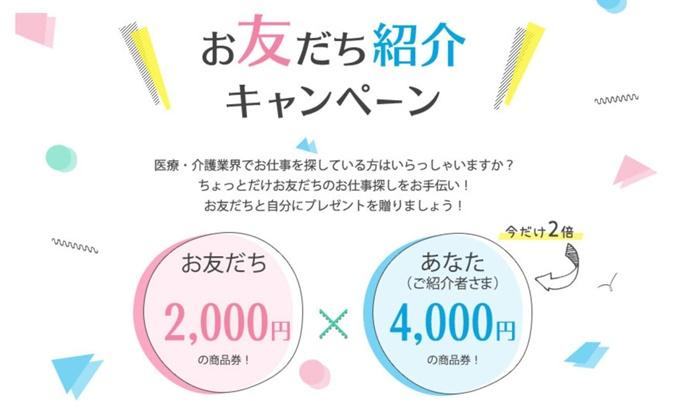 メドフィットの友達紹介キャンペーン