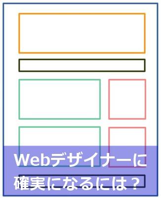 Webデザイナーになるには?