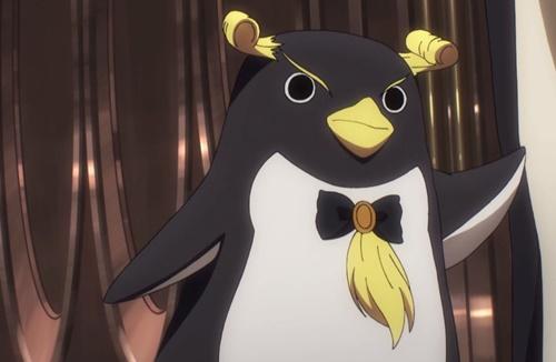 イワトビペンギンのエクレア
