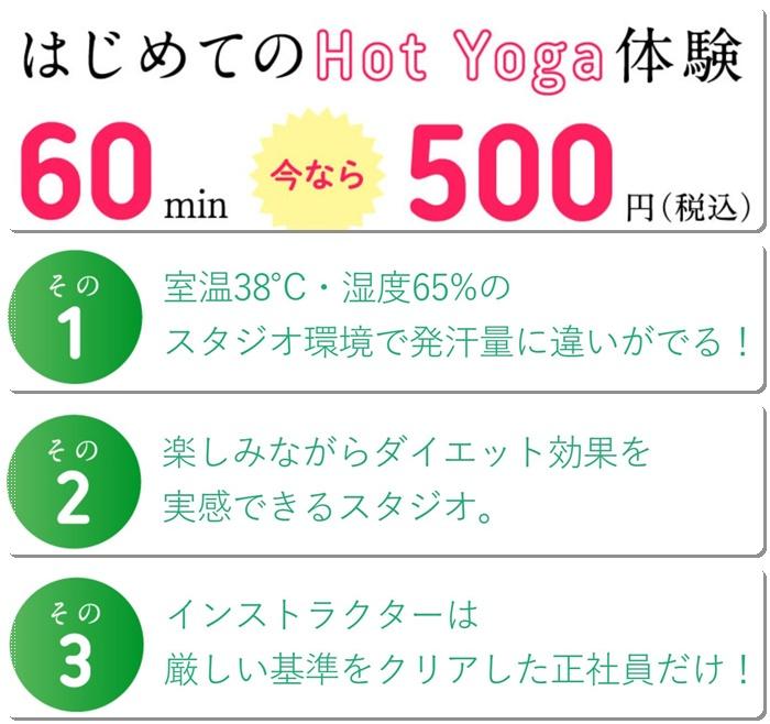 ロイブ、60分500円。発汗量に違いが出る。楽しみながらダイエット。インストラクターは正社員だけ。