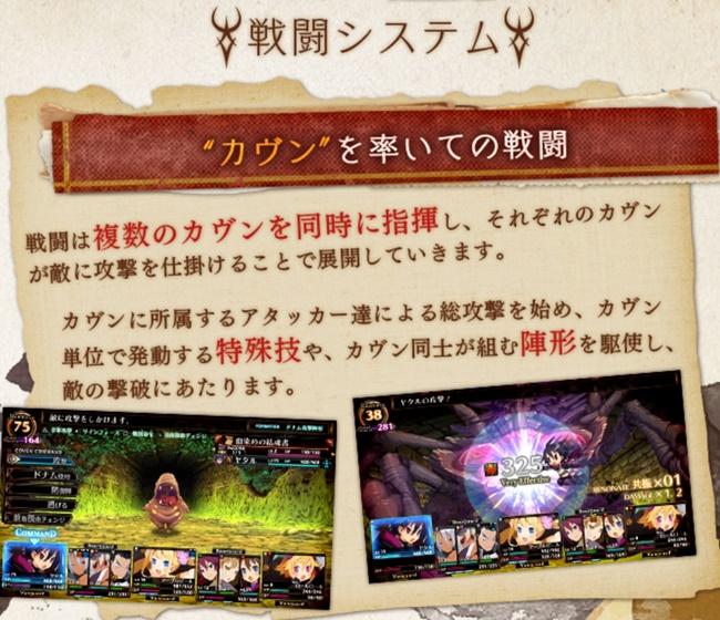 ルフランの地下迷宮と魔女ノ旅団のバトルシステム